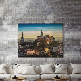 Tablou Canvas Toamna peste oras