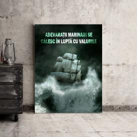 Tablou motivational - Adevaratii marinari