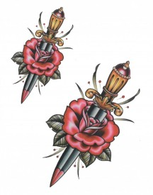 Tatuaj temporar -sabie- 20x15cm