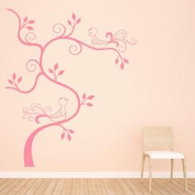 Birds Swirl Tree 3