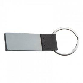 Breloc metalic dreptunghiular - personalizata cu logo - 0578