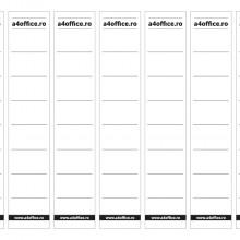 Etichete personalizate pentru biblioraft, PVC, rezistente la apa