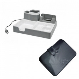 """Set Organizator birou DO 003-17 + Cadou Husa Laptop 15.4"""" - Limited Edition"""