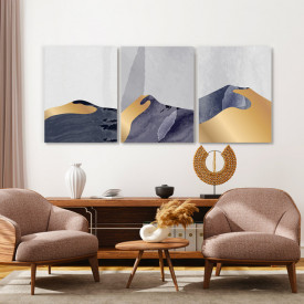 Set tablouri canvas - Golden dunes
