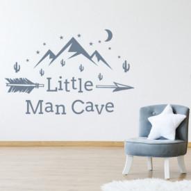 Sticker Little Man Cave