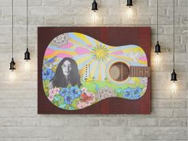 Tablou Canvas Artistic guitar