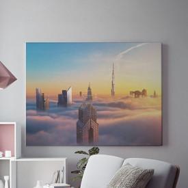 Tablou Canvas Deasupra norilor