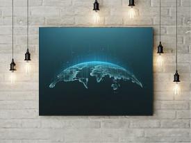 Tablou Canvas Digital Network