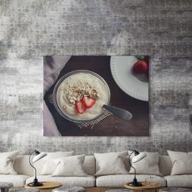 Tablou Canvas Iaurt si cereale