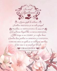 Tablou canvas - In Acest Apartament - Flori de Cires