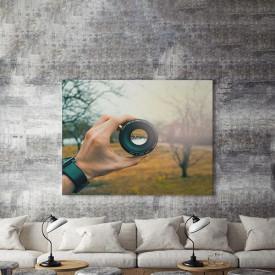 Tablou Canvas Lumea Prin Obiectiv