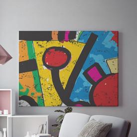 Tablou Canvas Mesaj abstract