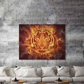 Tablou Canvas Zeul tigru