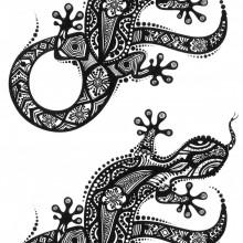 Tatuaj temporar -Soparla- 17x10cm