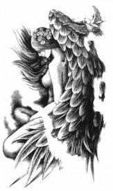 Tatuaj temporar -Inger- 17x10cm