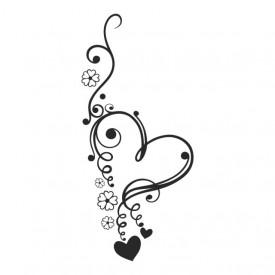Sticker Heart Shaped Love