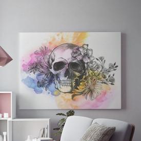 Tablou Canvas Artistic Skull