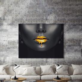 Tablou Canvas Aur Lichid
