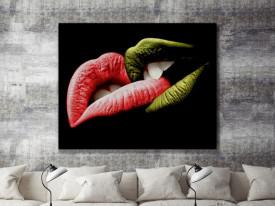 Tablou canvas - Buze colorate