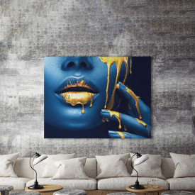 Tablou Canvas Golden Temptation 4