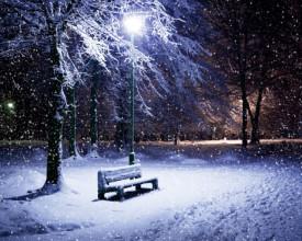 Tablou canvas - iarna