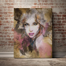 Tablou Canvas Painted girl