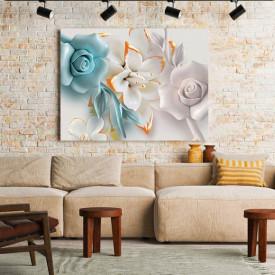 Tablou Canvas Pastel Flower