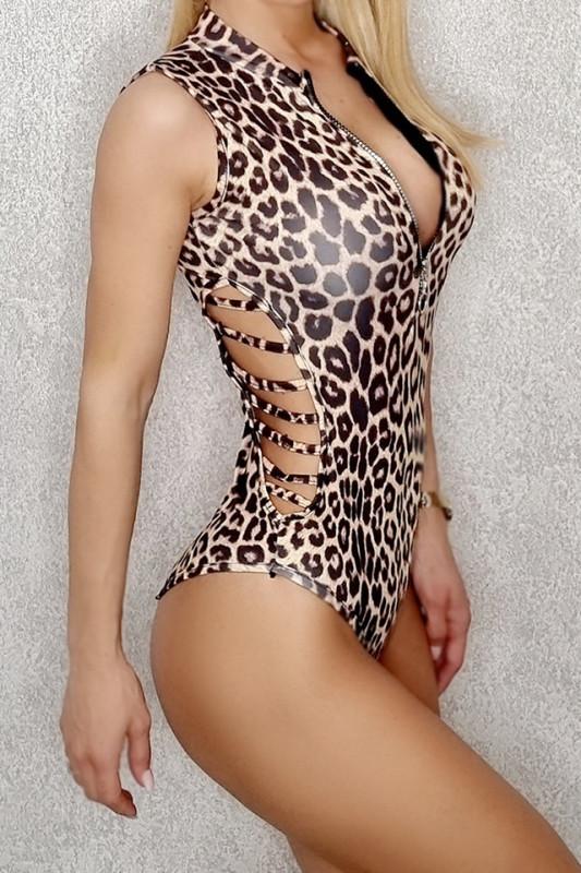 Body - costum de baie LYS Samira leopard