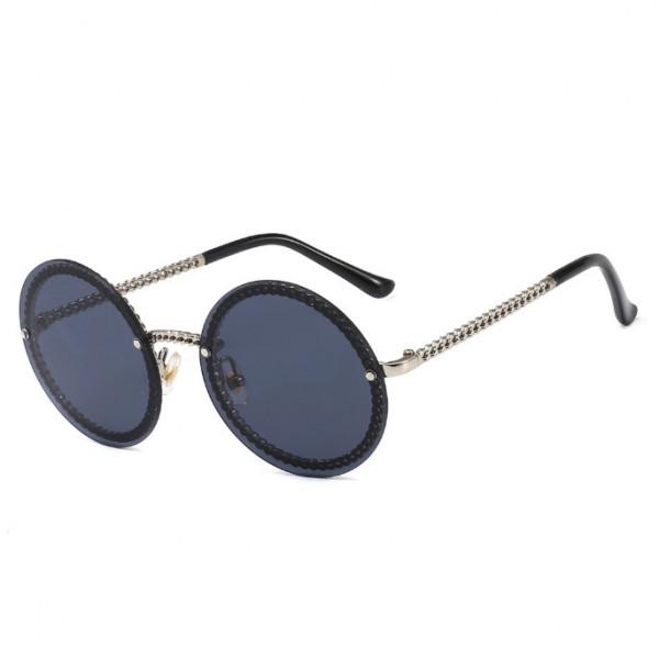 Ochelari de soare Rotunzi Retro Black