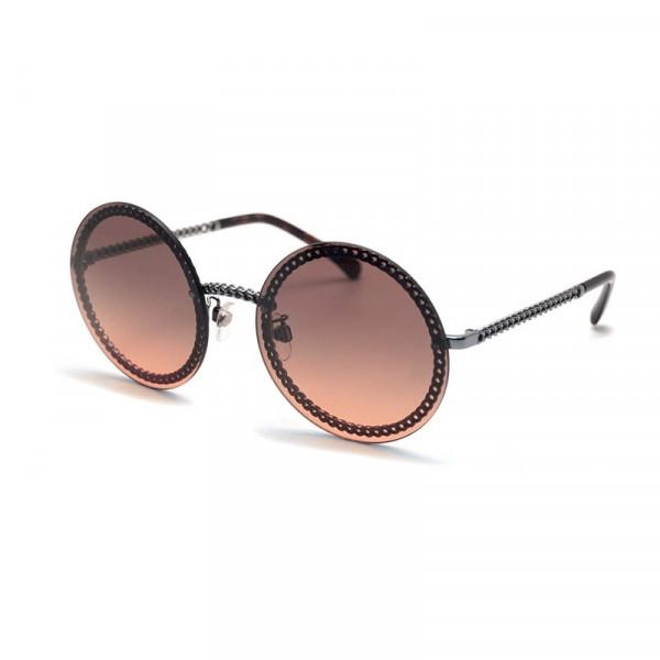Ochelari de soare Rotunzi Retro Maro