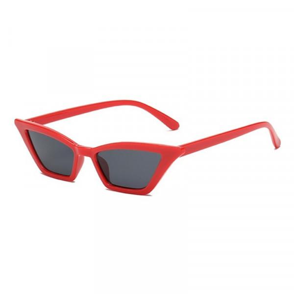 Ochelari de soare Vintage Cats Eye Red