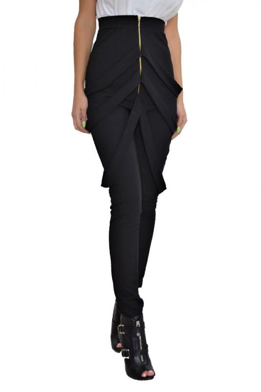 Pantaloni bretele Sanny