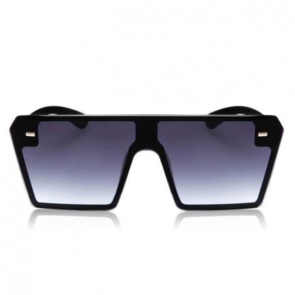 Ochelari de soare D3 mari patrati Oversized negru gradient