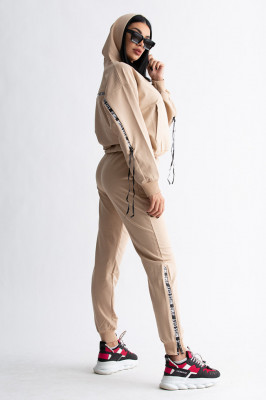 Compleu doua piese pantaloni si hanorac, Casilda somon