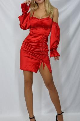 Rochie mini Roxana din satin