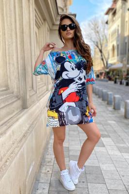 Rochie tricou lung Disney