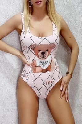 Body - costum de baie LYS Toy light pink