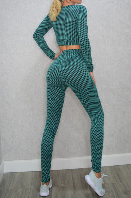 Compleu Fitness Yuvet, verde