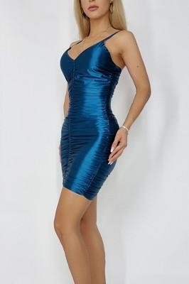 Rochie eleganta Zvetlana albastra