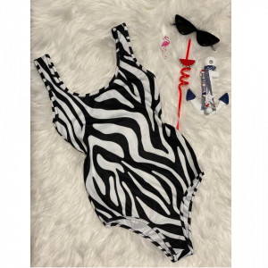 Body - costum de baie LYS Black Zebra