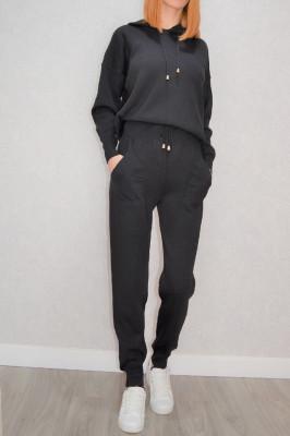 Compleu tricot Invigo negru