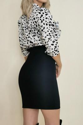 Fusta elastica Trendy neagra