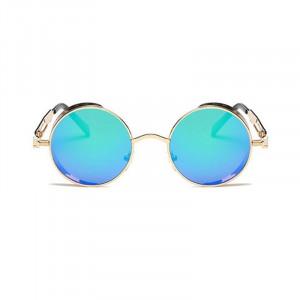 Ochelari de soare Vanity Turquoise model rotund unisex