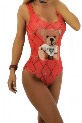 Body - costum de baie LYS Toy Rosu