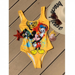 Body - costum de baie LYS Yellow Mickey