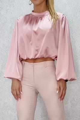 Camasa scurta Sublime Chic roz