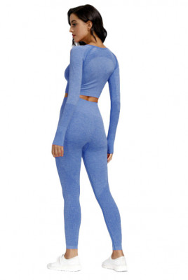 Compleu Fitness Wish albastru