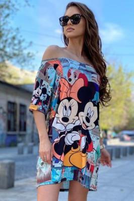 Rochie tricou lung Disney Love