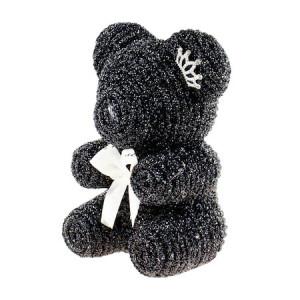 Diamond Teddy Bear, in cutie cadou, 20 cm