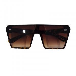 Ochelari de soare D3 mari patrati Oversized maro